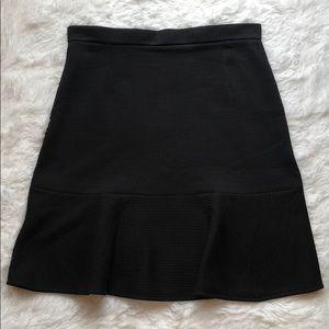 Carven black skirt with flounce/ruffle hem 🔥